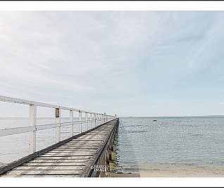 Sorrento Pier  #3400 - Limited Edition 25