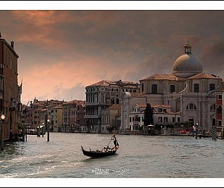 Venice, Grand Canal Sunset